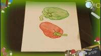 画菜椒,教小孩快速画画基础教程视频,怎么教儿童画画入门技巧教学,乐成宝贝