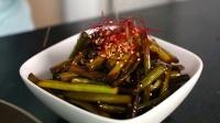 炒大蒜与蒜苗 清炒蒜苔的做法