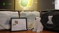 【环保再生纺织品】爱护地球系列保暖毯礼盒