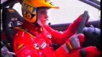 Evo V WRC testing in 1998' by Tommi Makinen