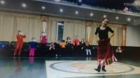 藏族舞《洗衣歌》潘玲老师演示,毛老师编舞