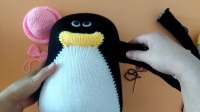 伊人手工 企鹅编织视频