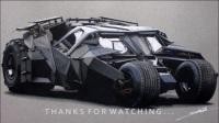 大神笔下的蝙蝠车真是酷极了!《孙仙桥老师推荐视频系列》