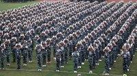 楚雄州-天人中学-军训闭幕-汇报-滇影文化摄制