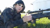 pcp气枪的后坐力对射击精度影响, 之泰迪用新本杰明在农场打鸽子137码狙击爆头视频