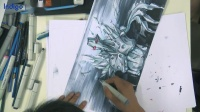 意翔娱乐设计/工业设计手绘——星际精灵表达(高难度)