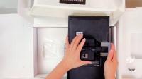 美国ELAN义兰12寸人工智能可视对讲触摸屏开箱视频