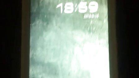 酷派7295修改开机动画后效果