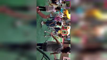幼儿园 开放日 广播操