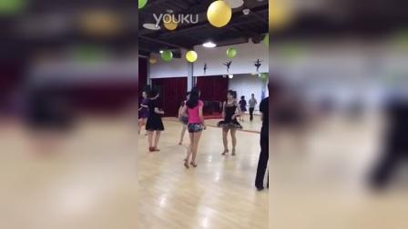偷拍我在练习salsa舞