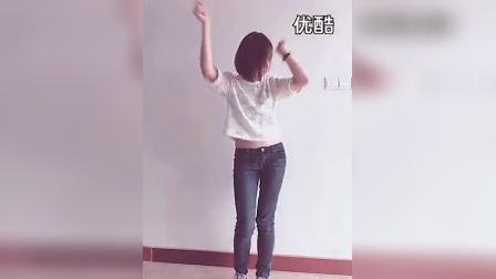 优酷网-清纯美女慢摇牛仔裤舞_高清_标清