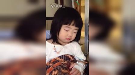 【粉红豹】曹格女儿包子姐姐曹华恩(grace):打瞌睡!