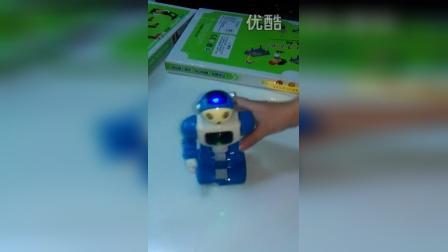 29480澄海厂家电动 3D灯光眨眼 会走路机器人机器玩具批发