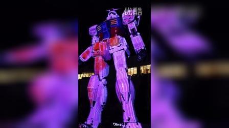 coolux-3D Mapping_Gundam@Japan