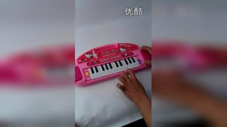 3224832248特价儿童电子琴 儿童玩具 hello kitty音乐电子琴早教玩具