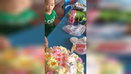 泽恩三岁生日