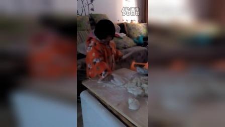 女儿擀面饼