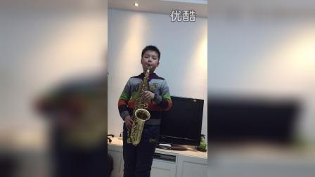 张乾皓 萨克斯 《同一首歌》