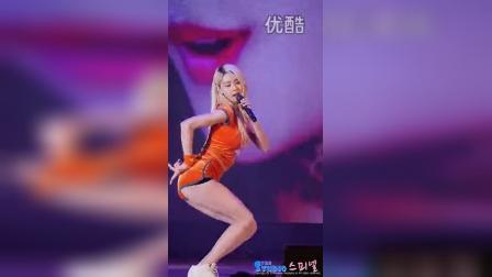 he - Sticky Sticky - 乐天世界乐园 主-权娜拉 饭拍版 15_01_09