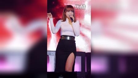 【韩国视频】洪真英好身材高叉裙热舞