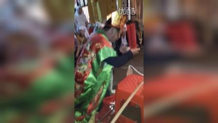 湖南宁乡朱良桥乡道场   法事破盆   1