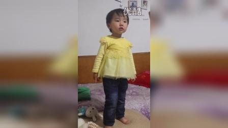 宝贝唱坏姐姐,学MV里跳舞 2015.5.8
