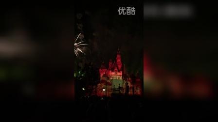 洛杉矶迪士尼烟火表演