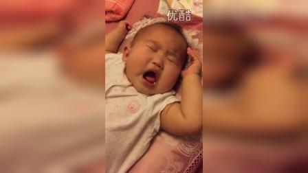 七个月,睡觉要唱歌哩