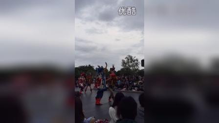 日本迪士尼花车巡演万圣节版