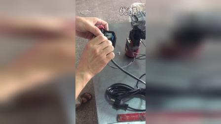 LAVOR洗车机微动开关及溢流阀拆装视频video 002