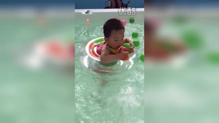 郭瑞鲲游泳还要摆