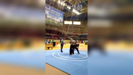 吴圳燚新昌推手75公斤擂台赛