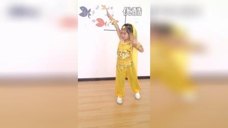 于悦鑫 新疆舞 小帽姑娘