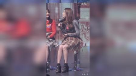 151205 Girls day 手游-英雄军团 代言活动 Talk  FANCAM 1080P