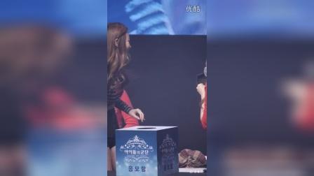 151205 Girls day 手游-英雄军团 代言活动 FANCAM  抽奖环节  1080P