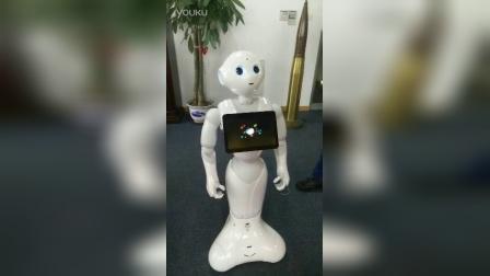 中国第一台pepper机器人入驻穿山甲