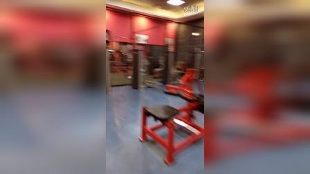 大连健身房于陈康,张迪一起练