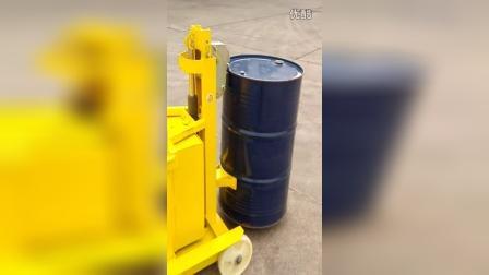 ERGO-PWPL电动自行走圆桶搬运堆高车视频演示