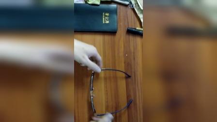 欧雅太阳眼镜调整方法