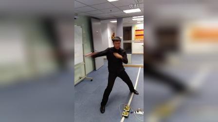 双节棍发力套路,宋迪龙 北京棍舞
