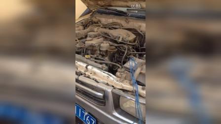 丰田海拉2700发动机声音