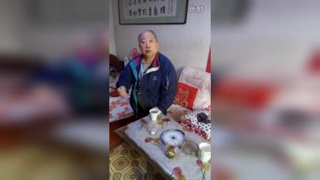 86岁天津武林传奇泰斗:张群炎。示范拳法动作