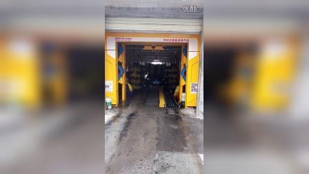 诺维兰卡乐仕电脑洗车机隧道式洗车机洗车视频