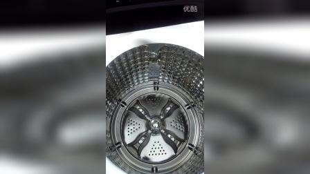 海尔子母免清洗洗衣机演示