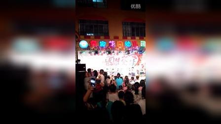 2016-6-3广西玉林市北流市新圩镇我家宝宝在幼儿园演出场纪录片2李能海