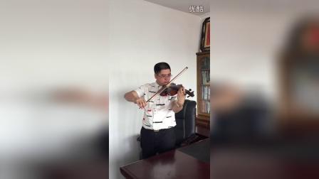 《月亮代表我的心》小提琴练习曲