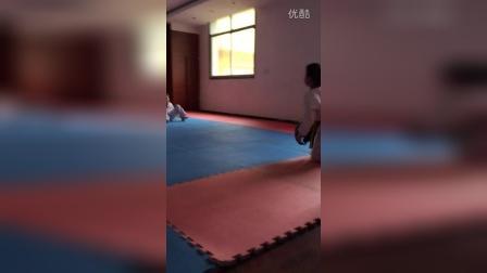 初次接触跆拳道