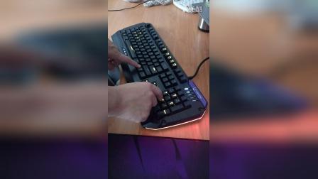 TESORO G5NFL 燈光演示