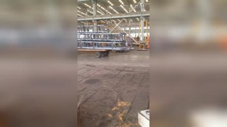 大吉板材加热炉视频