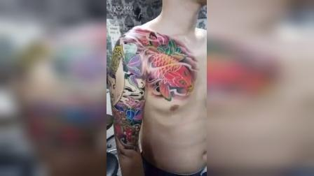 天一堂纹身欣赏 花臂